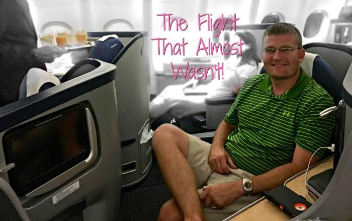 first class plane ride
