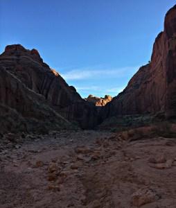 Wire Pass slot canyon