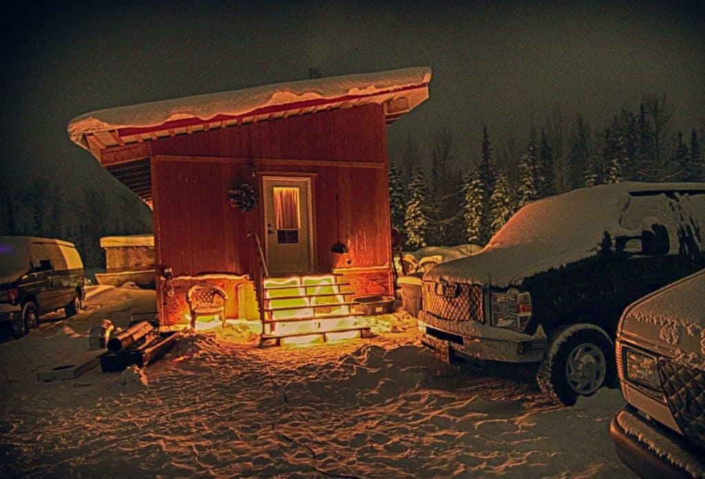 Alaska Aurora Adventures' Cabin
