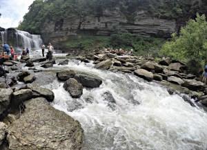 Cummins Falls water