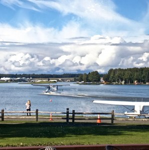 Sea Plane Taking off Lake Hood