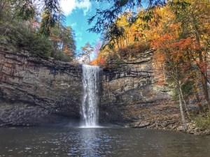 Foster Falls trail
