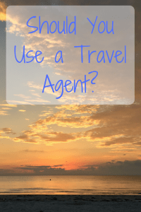 Should I use a travel agent