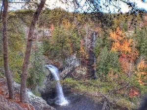 Foster Falls overlook
