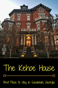 The Kehoe House; Best Place to stay in Savannah