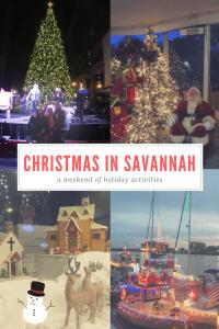 Savannah at Christmas
