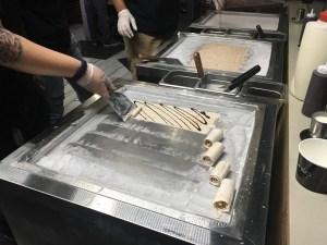 Below Zero rolled ice cream