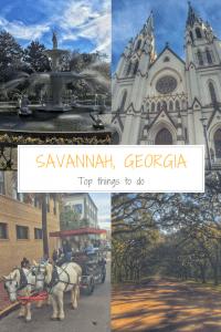 Weekend in Savannah, Georgia