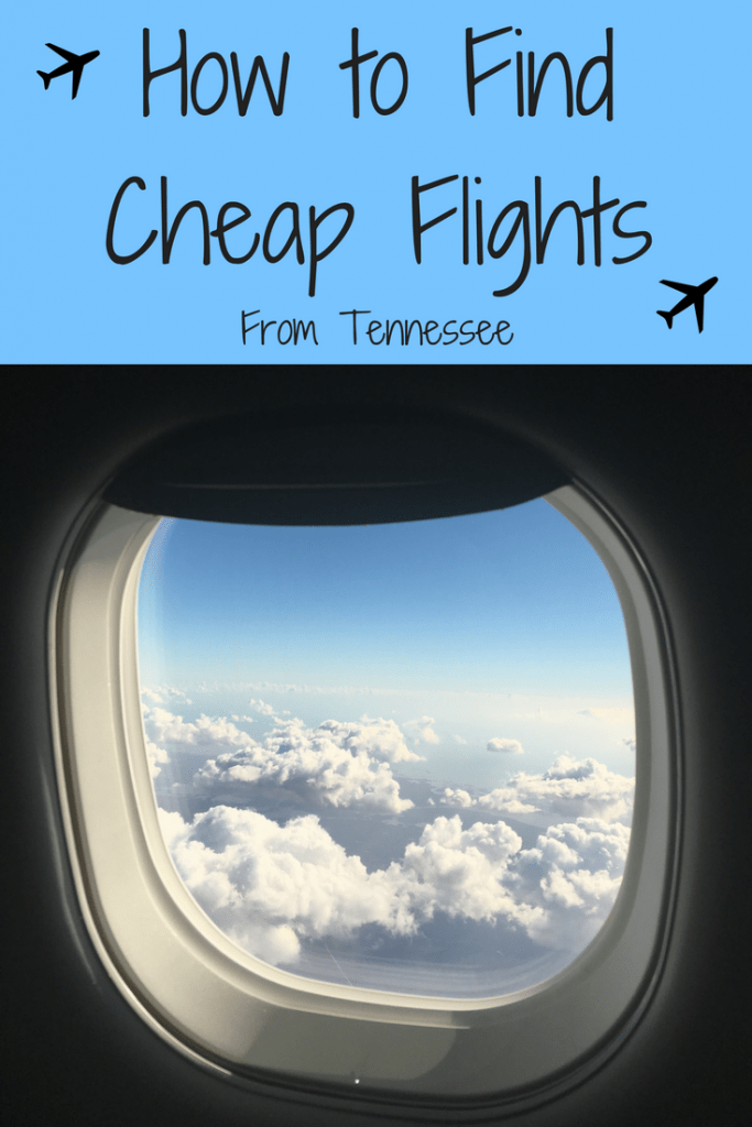 How to find a cheap flight from tennessee tattling tourist for How to find cheapest flight