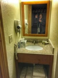 Denali Park Village bathroom